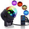 Party Light Disco Ball Rotating Sound Activated Strobe Stage Lamp - MULTI-A