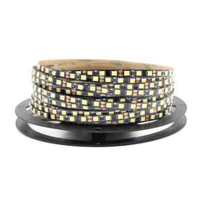 5mm Width Black Breadboard 1-5 M 2835 x 600 SMD Leds Flexible Led strips DC12 V