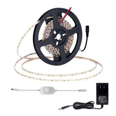 5mm Width 5M 2835 x 600  Leds Flexible Strips with Dimmer Switch and 2A Power