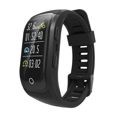 Color Screen Activity Fitness Tracker Smart Band IP68 Waterproof GPS Heart Rate