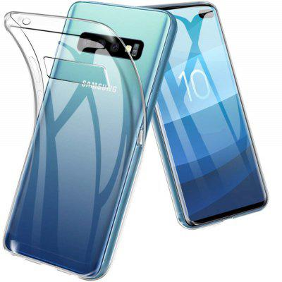Transparente Soft TPU Case Capa para Samsung Galaxy S10 Plus