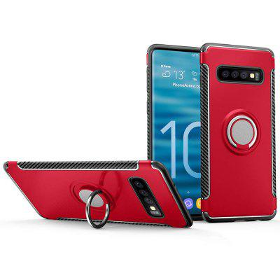 Case for Samsung Galaxy S10 Car Magnetic Stand Holder 360 Degree Adjustable Ring
