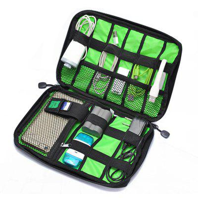 Multi-Function Waterproof Travel Carry Protective Data Cable Storage Bag