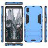 For Meizu Charm Blue E3  Cool Two-In-One Shelf Protection Case - BLUE