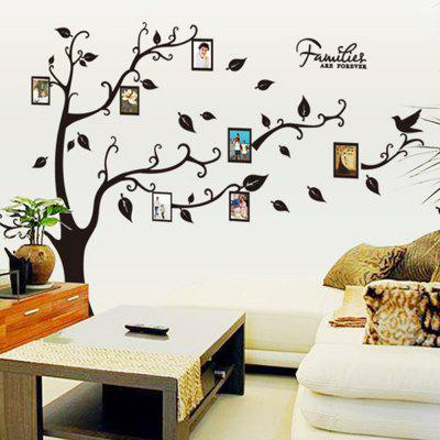DIY Decal Photo Tree Frame Wall Sticker for Family Decoration
