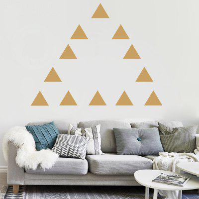 Triangles DIY Wall Stickers Vinyl Decal Removable Art Nursery Kids Room Decor