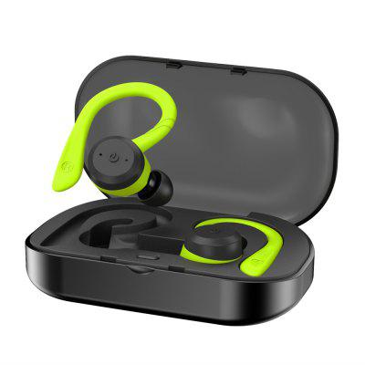 IP7 Waterproof Headphones Bluetooth 5.0 Headset with Microphone Stereo Earphone