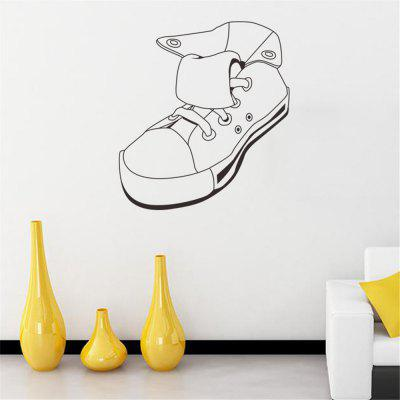Explosions Sneakers Personalized Living Room Bedroom Wall Sticker decorativo