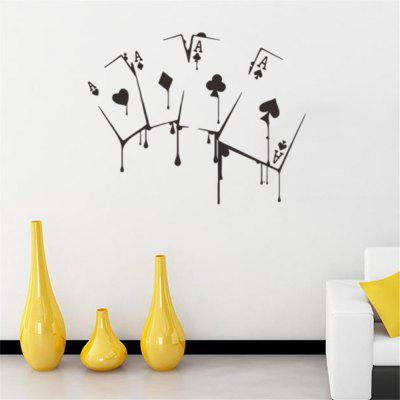 Kreativní osobnost Obývací pokoj TV DIY Wall Decorative Wall Sticker