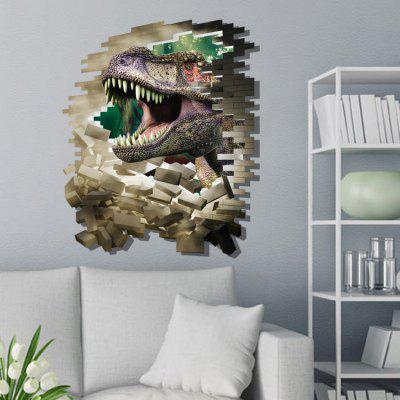Dinosaur Series Muurstickers 3D Mozaïeken Dieren Muurstickers Room Home Decor