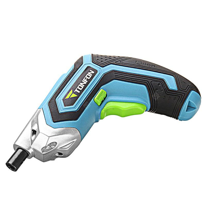 Xiaomi Tonfon 3.6V Cordless USB Rechargable Electric Screwdriver - Blue