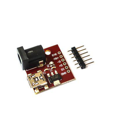 MINI USB 5V Gniazdo Power Interface USB AMS1117 Gniazdo zasilania 3.3V DC