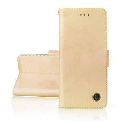 Simplicity leather Cover-telefoons Case Voor NOKIA 3.1 Plus Cover
