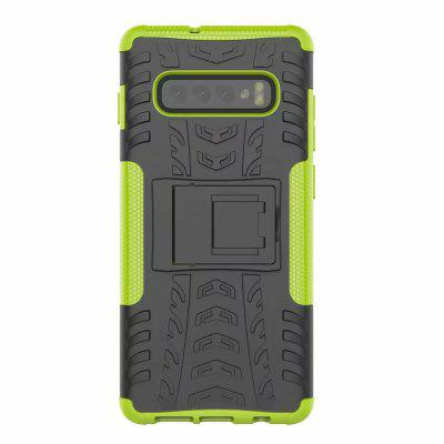 Shockproof Back Cover Armor Hard PC for Samsung Galaxy S10 Plus Phone Case