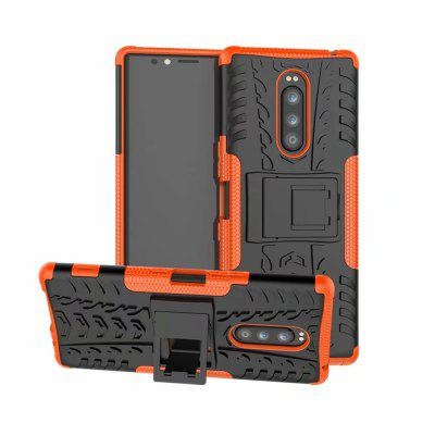 Shockproof Back Cover Armor Hard PC for Sony XZ4 Phone Case