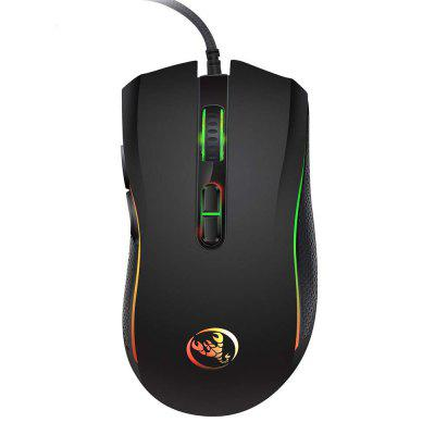 HXSJ Brand New Professional Gaming Mouse Com 7 Cores Brilhantes LE