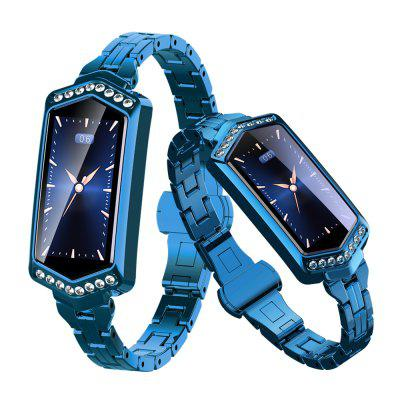 Fashion Lady Smart Watch Fitness Bracelet Heart Rate Tracker Monitoring Bracelet