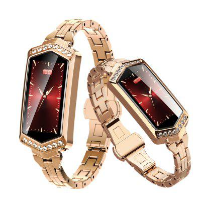 Fashion Lady Smart Watch Fitness Bracelet Heart Rate Tracker Monitoring Bracelet Image