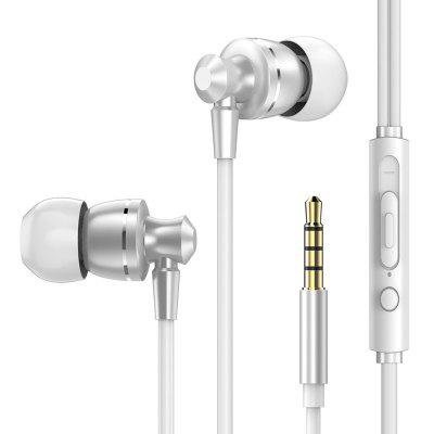 Headphone with Microphone Volume Control Earbuds for Mobile Phone