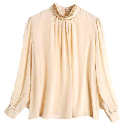 New Women's Clothes In Spring Silk Shirts Silk Pullovers