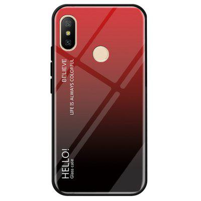 Gradient Tempered Glass Case Cover for Xiaomi Mi 8