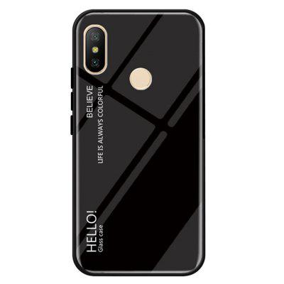 Gradient Tempered Glass Case Cover for Xiaomi Redmi Note 5 Pro