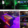 5050 RGB LED TV Background Self-adhesive with MINI 3 Key Remote Controller DC5V - WHITE
