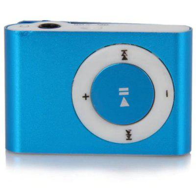Cool Pocket MP3 Player 3.5mm Audio Jack with Back Clip and Micro SD Card Slot