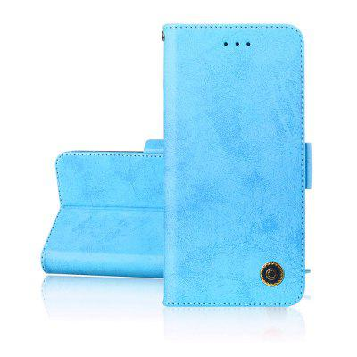 Simplicity leather Cover phones Case Voor SONY XA2 Cover
