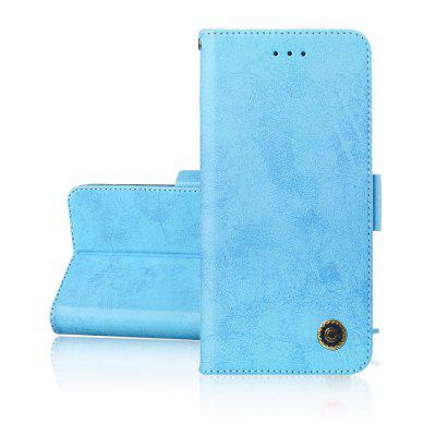 Simplicity leather Cover phones Case voor Samsung Galaxy J6 Plus Cover
