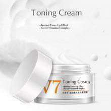 Gearbest V7 Face Cream Lazy Nude Make-Up Face Invisible Cover Flaw Whitening