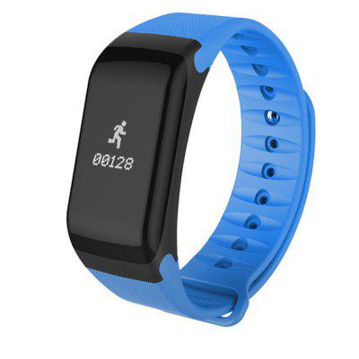 V6 F1 Step Heart Rate and Blood Pressure Monitoring Waterproof Smart Bracelet