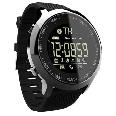 V6 EX18 Step Waterproof SMS Alert Luminous Bluetooth Smart Watch
