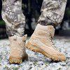 Men's Breathable Ankle Boots Men Army Desert Combat Boots - SAND