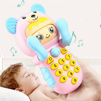 Baby Early Education Story Face Mobile Phone Toy