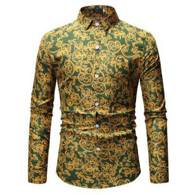 2019 New Foreign Trade Men'S Casual Shirt