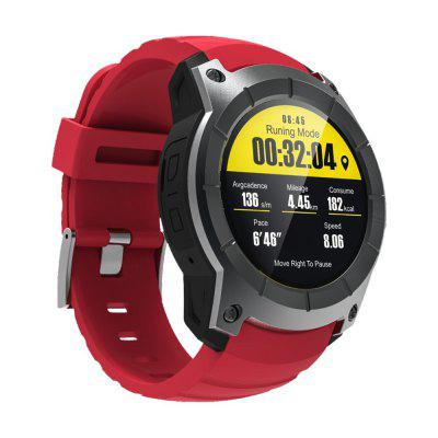 GPS Smart Watch Heart Rate Monitor Smartwatch Sports Support SIM TF Card Image