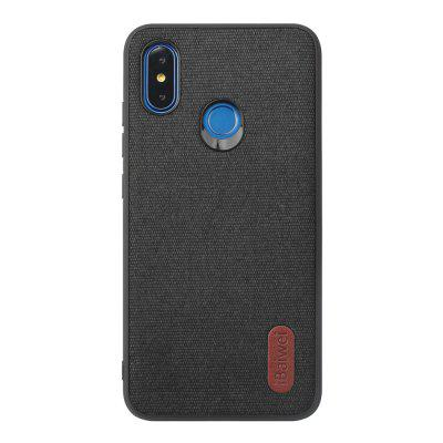 High Quality PU Cloth Fabric Anti-Fall TPU Case for Xiaomi 8