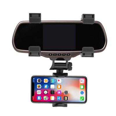 Rotation Rear View Mirror Mount Phone Holder