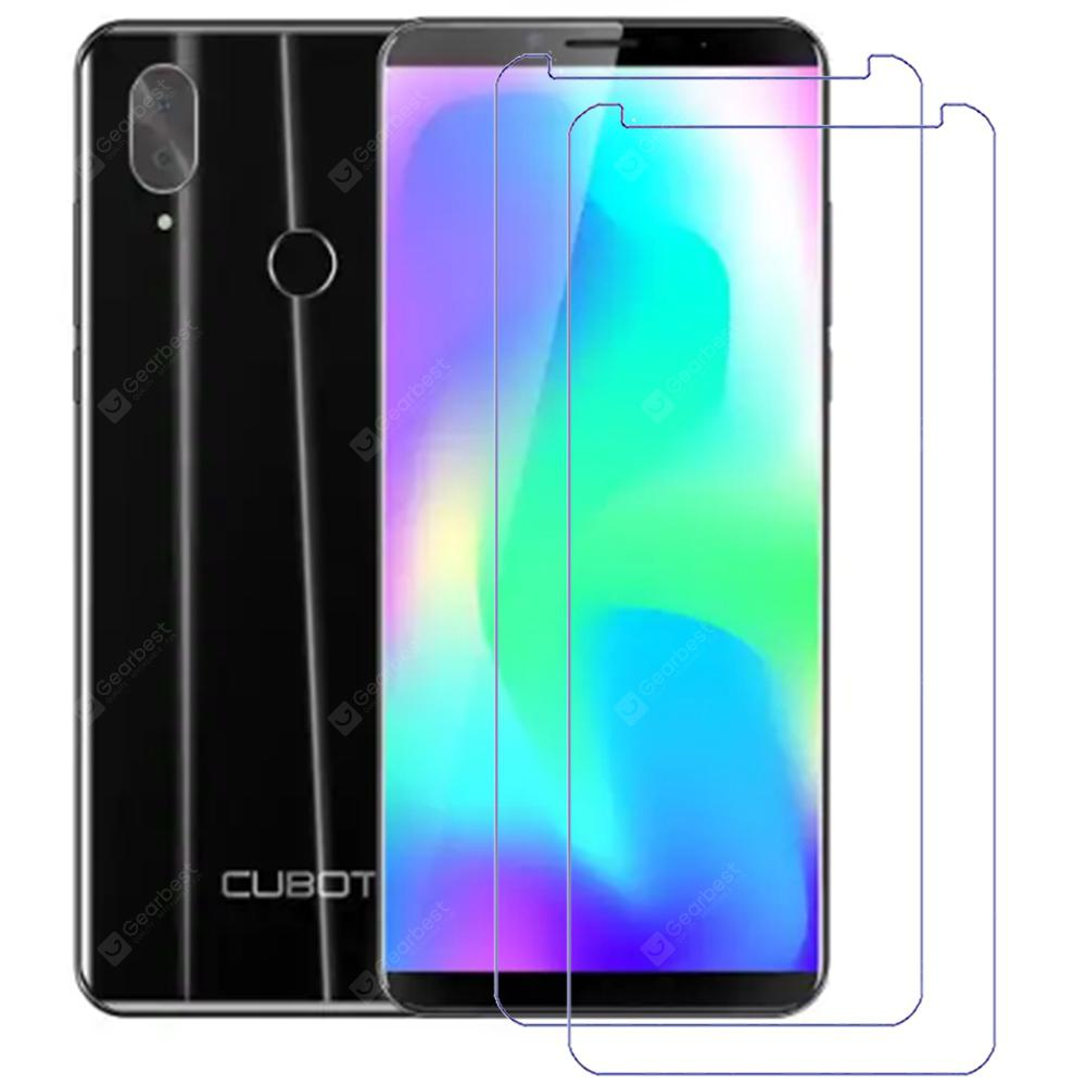 2pcs Gocomma Tempered Glass Screen Protector Films for Cubot X19