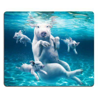 Happy Pig Pattern Super Soft Non - Slip Natural Rubber Mouse Pad