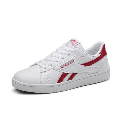 Men'S Breathable Casual Shoes Trend Wild Shoes Fashion White Shoes