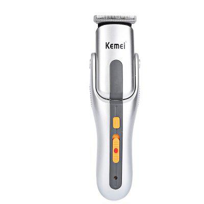 Kemei Multifunction Rechargeable Hair Shaver Razor Cordless Adjustable Clipper