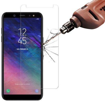 3st 2.5D 9H gehard glas screen protector voor Samsung Galaxy A6