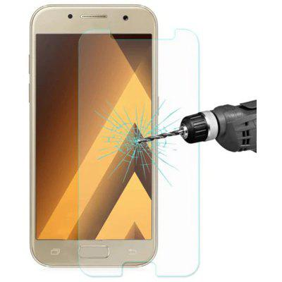 3Pcs 2.5D 0.3mm 9H Tempered Glass Screen Protector For Samsung Galaxy A7 2017