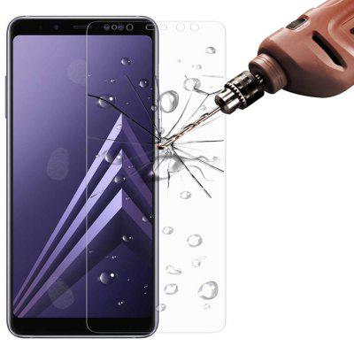 3Pcs 2.5D 0.3mm 9H Tempered Glass Screen Protector For Samsung Galaxy A8 2018