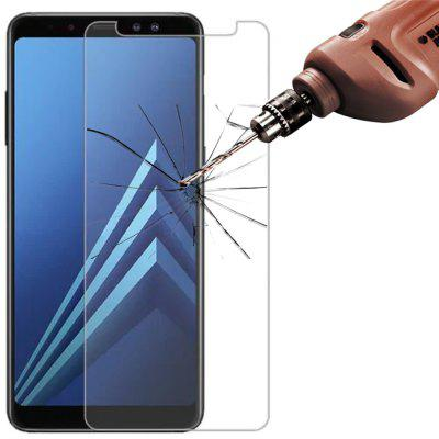 5Pcs 2.5D 9H Tempered Glass Screen Protector For Samsung Galaxy A8 Plus 2018