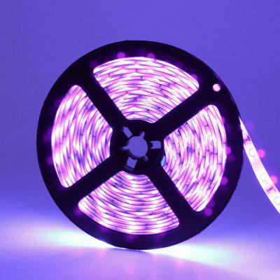 Impermeável DeepDream Black Light UV 395-400nm 3528 SMD LED Tira Flexível DC12V