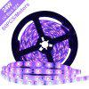 Impermeable DeepDream Black Light UV 395-400nm 3528 SMD Flexible LED Strip DC12V - PúRPURA