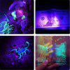 Waterdichte DeepDream Black Light UV 395-400nm 3528 SMD Flexibele LED Strip DC12V - PURPER